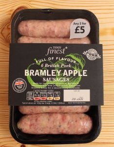 Sausage made with British Pork Meat