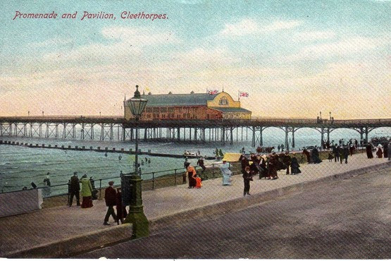 Cleethorpes Pier and Pavilion in 1917