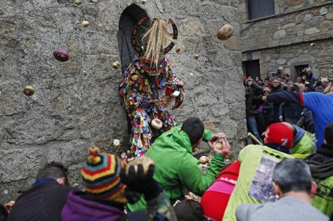 APTOPIX Spain Jarramplas Festival