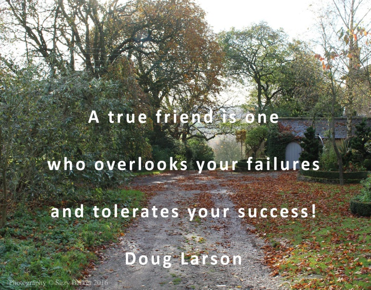 A true friend quotation from Doug Larson