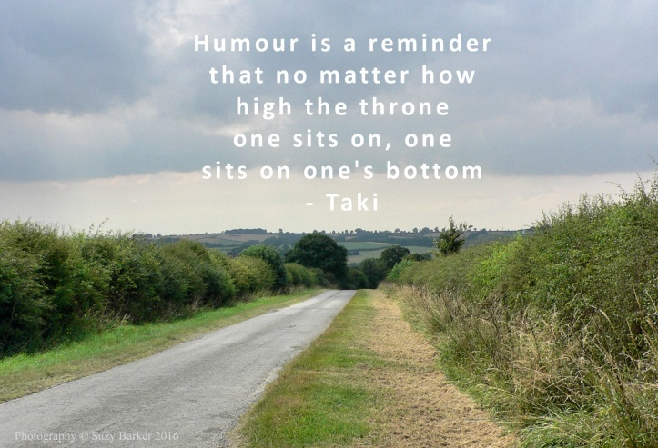 Humour is a reminder ... quote