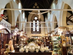 Trinity Antiques Centre in the old Holy Trinity Church, Horncastle