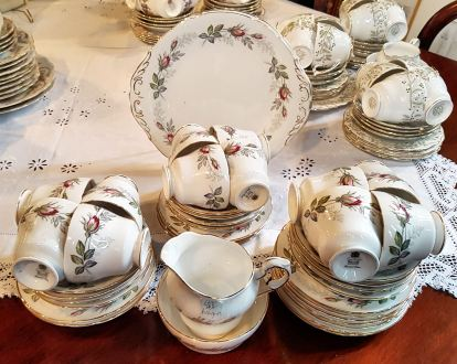 English Fine Bone China Tea Set at Trinity Antiques Centre