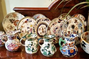 Pottery at Trinity Antiques Centre