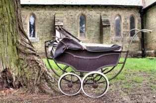 Dolls' Pram, Trinity Antiques Centre, Horncastle, Lincolnshire