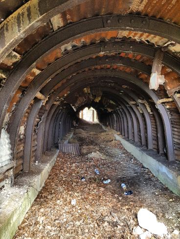 Remains of Ironstone Mines, Lincolnshire Wolds
