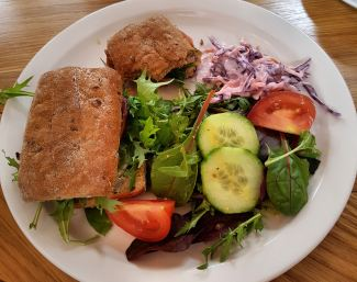 Lunch at Dunn's Tearooms, Nettleton