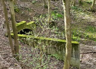 Remains of Nettleton Ironstone Mines
