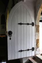 Entrance to St Nicholas' church, Cuxwold
