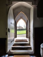 Entrance to St Nicholas' church, Cuxwold
