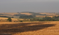 Early morning view over the Lincolnshire wolds