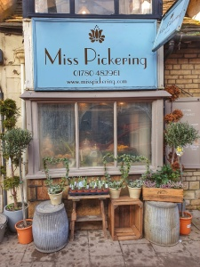 Miss Pickering flower shop in Stamford, Lincolnshire