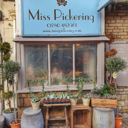 Miss Pickering flower shop and florist in Stamford, Lincolnshire
